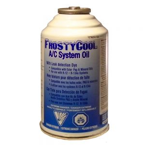 Canette de FrostyCool AC System Oil