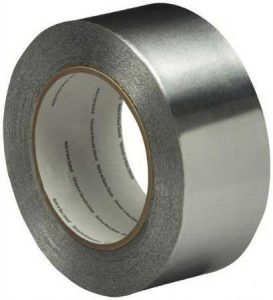 ruban adhésif en aluminium pour câble chauffant