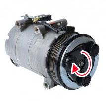 embrayage du compresseur de climatisation