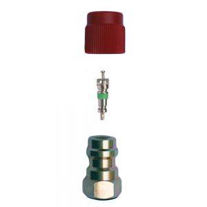 composants de la valve schrader
