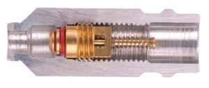 obus de valve dans son logement